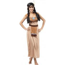 Costume Indienne Adulte TU