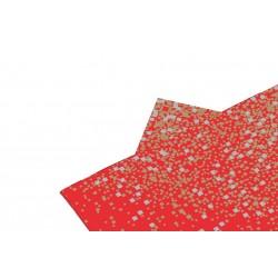 Serviettes Pépites rouge