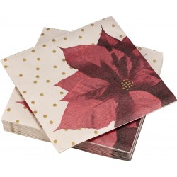 Serviettes Poinsettia